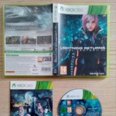 Videojuegos y Consolas: JUEGO XBOX 360 FINAL FANTASY XIII - LIGHTNING RETURNS. Lote 223404852
