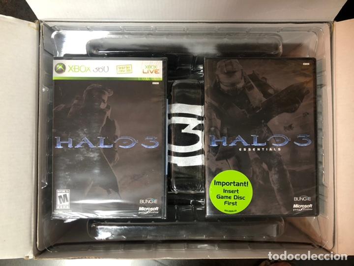 Videojuegos y Consolas: Halo 3 Legendary Edition Xbox 360 Individually Numbered Helmet NEW - Foto 2 - 224136280