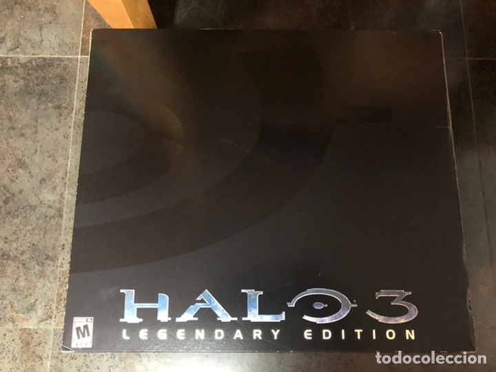 HALO 3 LEGENDARY EDITION XBOX 360 INDIVIDUALLY NUMBERED HELMET NEW (Juguetes - Videojuegos y Consolas - Microsoft - Xbox 360)