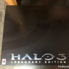 Videojuegos y Consolas: HALO 3 LEGENDARY EDITION XBOX 360 INDIVIDUALLY NUMBERED HELMET NEW. Lote 224136280