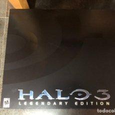 Videojuegos y Consolas: HALO 3 LEGENDARY EDITION XBOX 360 INDIVIDUALLY NUMBERED HELMET NEW. Lote 224136280