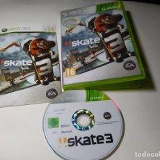 Videojuegos y Consolas: SKATE 3 ( XBOX 360 - PAL - EURO ) CON ESPAÑOL!. Lote 225287570