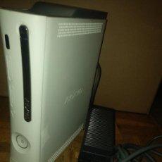 Videojuegos y Consolas: CONSOLA XBOX 360 BLANCA CON CARGADOR Y CABLE TELEVISIÓN. Lote 226608755