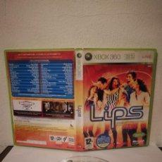 Videojuegos y Consolas: CD ORIGINAL - XBOX 360 LIPS - VIDEOJUEGO - ESPAÑOL CON MANUAL. Lote 226706370