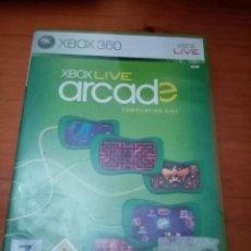 Videojuegos y Consolas: XBOX 360 XBOX LIVE ARCADE.. Lote 229309505