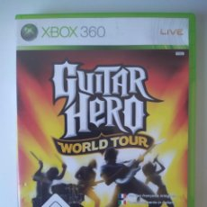 Videojuegos y Consolas: GUITAR HERO WORLD TOUR XBOX 360. Lote 230077245