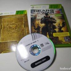 Jeux Vidéo et Consoles: GEARS OF WAR 3 ( XBOX 360 - PAL - ESP). Lote 233410095