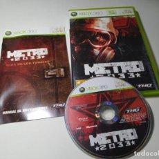 Jeux Vidéo et Consoles: METRO 2033 ( XBOX 360 - PAL - ESP). Lote 233410215