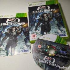 Jeux Vidéo et Consoles: BINARY DOMAIN ( XBOX 360 - PAL - UK) CON ESPAÑOL!. Lote 233418405