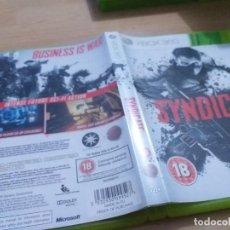 Videojuegos y Consolas: SYNDICATE PAL ESP XBOX 360. Lote 233621845