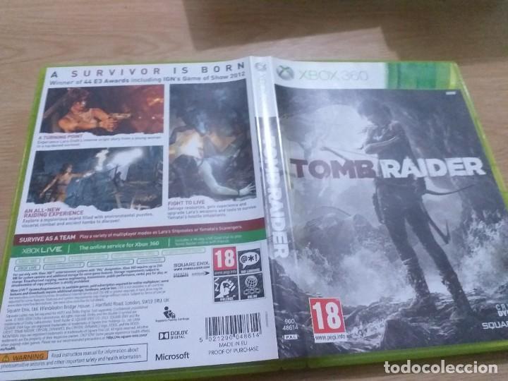 TOMB RAIDER XBOX 360 (Juguetes - Videojuegos y Consolas - Microsoft - Xbox 360)
