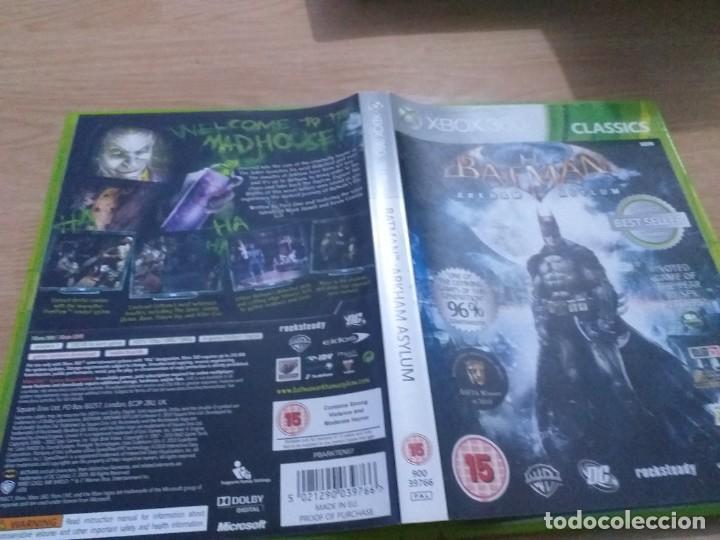 BATMAN ARKHAM ASYLUM EDICION GAME OF THE YEAR . GOTY XBOX 360 (Juguetes - Videojuegos y Consolas - Microsoft - Xbox 360)