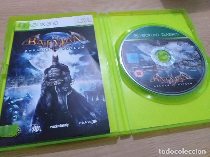 Videojuegos y Consolas: BATMAN ARKHAM ASYLUM EDICION GAME OF THE YEAR . GOTY XBOX 360 - Foto 2 - 233626445