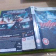 Videojuegos y Consolas: WOLFENSTEIN XBOX 360. Lote 233632620