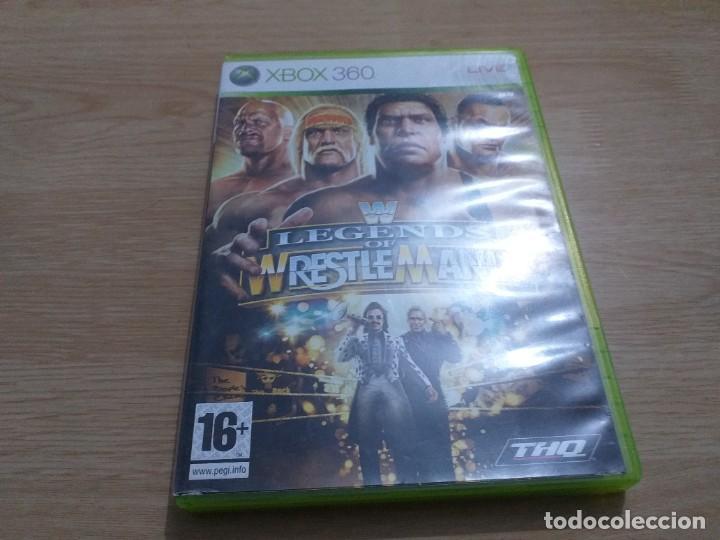 WWE LEGENDS OF WRESTLEMANIA XBOS PAL ESP (Juguetes - Videojuegos y Consolas - Microsoft - Xbox 360)