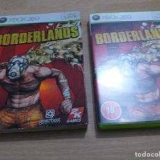 Videojuegos y Consolas: BORDERLANDS CAJA CARTON PAL UK -ESP XBOX 360. Lote 233760095