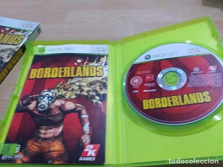 Videojuegos y Consolas: BORDERLANDS CAJA CARTON PAL UK -ESP XBOX 360 - Foto 2 - 233760095