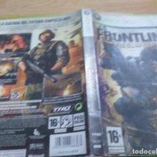 Videojuegos y Consolas: FRONTLINES FUEL OF WAR XBOX 360 PAL ESP. Lote 233760915