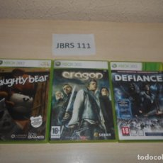 Jeux Vidéo et Consoles: ERAGON + DEFIANCE + NAUGHTY BEAR. Lote 234574955