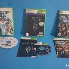 Videojuegos y Consolas: LOTE DE 3 JUEGOS XBOX 360. Lote 234678085