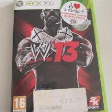 """Videojuegos y Consolas: JUEGO CONSOLA MICROSOFT XBOX 360 , WWE """"13. Lote 234907460"""