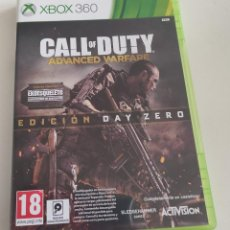 Videojuegos y Consolas: JUEGO CONSOLA MICROSOFT XBOX 360 , CALL OF DUTY ADVANCED WARFARE EDICION DAY ZERO. Lote 234908000