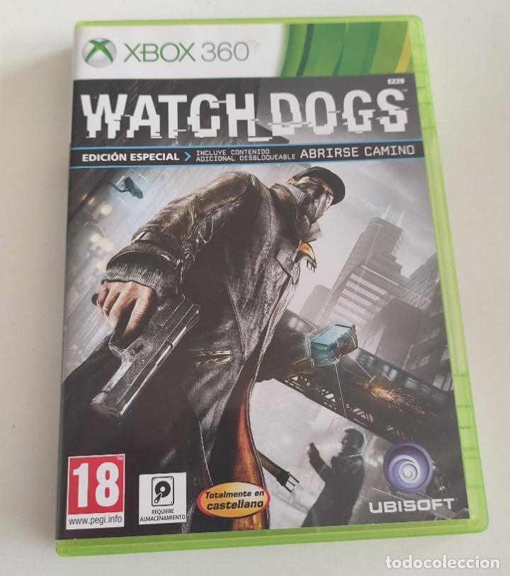 JUEGO CONSOLA MICROSOFT XBOX 360 , WATCHDOGS - WATCH DOGS , COMPLETO (Juguetes - Videojuegos y Consolas - Microsoft - Xbox 360)