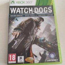 Videojuegos y Consolas: JUEGO CONSOLA MICROSOFT XBOX 360 , WATCHDOGS - WATCH DOGS , COMPLETO. Lote 234908235