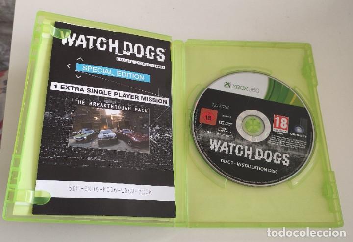 Videojuegos y Consolas: JUEGO CONSOLA MICROSOFT XBOX 360 , WATCHDOGS - WATCH DOGS , COMPLETO - Foto 2 - 234908235