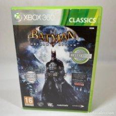 Videojuegos y Consolas: VIDEOJUEGO XBOX 360 - BATMAN ARKHAM ASYLUM + CAJA. Lote 234928320
