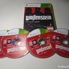 Jeux Vidéo et Consoles: WOLFENSTEIN THE NEW ORDER ( XBOX 360 - PAL - ESP). Lote 235159025