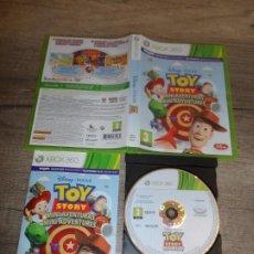 Videojuegos y Consolas: XBOX 360 TOY STORY MINI AVENTURAS PAL ESP COMPLETO. Lote 235406205