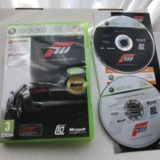 Videojuegos y Consolas: FORZA MOTORSPORT 3 MOTOR SPORT XBOX 360 X360 KREATEN. Lote 235730830