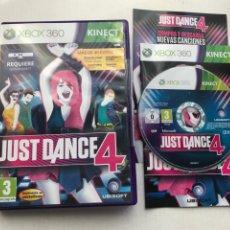 Videojuegos y Consolas: JUST DANCE 4 PARA KINECT XBOX 360 X360 KREATEN. Lote 235734215