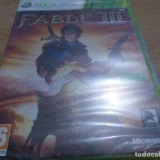 Videojuegos y Consolas: FABLE III PAL ESP XBOX 360 PRECINTADO. Lote 236067250