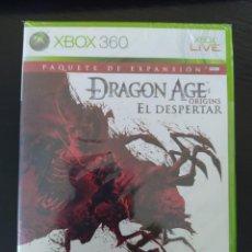 Videojuegos y Consolas: XBOX 360 - DRAGON AGE:ORIGINS EL DESPERTAR EXPANSION - PAL - NUEVO. Lote 236141425