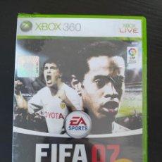 Videojuegos y Consolas: JUEGO XBOX 360 - FIFA 07 - NUEVO. Lote 236159740