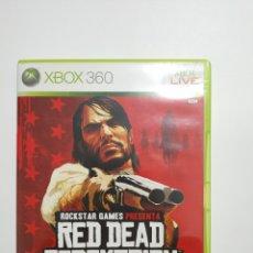 Jeux Vidéo et Consoles: XBOX360REF.48 RED DEAD REDEMPTION JUEGO XBOX360 SEGUNDAMANO. Lote 237637140