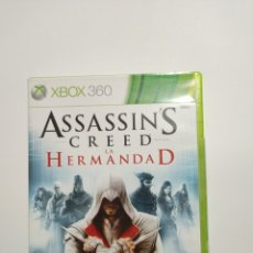 Jeux Vidéo et Consoles: XBOX360REF.55 ASSASSIN'S CREED LA HERMANDAD JUEGO XBOX360 SEGUNDAMANO. Lote 237638405