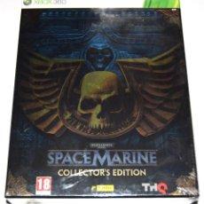 Videojuegos y Consolas: JUEGO XBOX 360 WARHAMMER 4000: SPACE MARINE EDICIÓN COLECCIONISTA NUEVO PRECINTADO. Lote 238145830