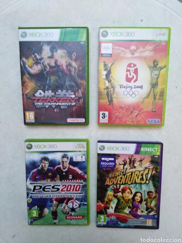 LOTE DE 4 JUEGOS XBOX 360 (Juguetes - Videojuegos y Consolas - Microsoft - Xbox 360)