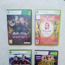 Videojuegos y Consolas: LOTE DE 4 JUEGOS XBOX 360. Lote 239913675