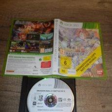 Videojuegos y Consolas: XBOX 360 DRAGON BALL Z BATTLE OF Z PAL ESP COMPLETO. Lote 240035460