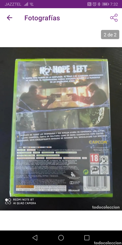 Videojuegos y Consolas: Resident evil 6 (PRECINTADO) - Foto 2 - 242934045