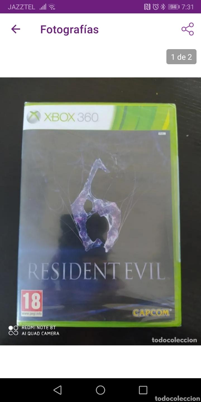 RESIDENT EVIL 6 (PRECINTADO) (Juguetes - Videojuegos y Consolas - Microsoft - Xbox 360)