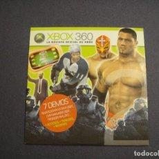 Videojuegos y Consolas: CD DE DEMOS CORRESPONDIENTE AL Nº 2 DE LA REVISTA XBOX 360. Lote 243133255