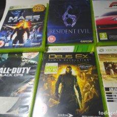 Videojuegos y Consolas: LOTE XBOX 360 - 13 JUEGOS CON CAJA, 7 CDS SUELTOS - 3 CAJAS VACIAS Y 2 MANDOS ( LEER DESCRIPCION). Lote 243580645