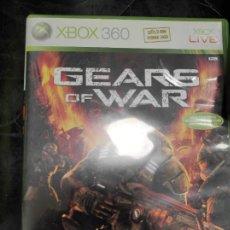 Videojuegos y Consolas: GEARS OF WAR XBOX 360. Lote 244553960