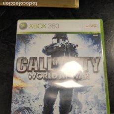 Videojuegos y Consolas: XBOX360 CALL OF DUTY, WORLD AT WAR,. Lote 244554125