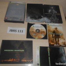 Videojuegos y Consolas: XBOX360 - CALL OF DUTY MODERN WARFARE 2 - EDICION BLINDADA , PAL ESPAÑOL , COMPLETO. Lote 244641140